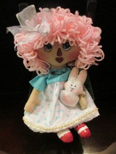 Spring Tyme Raggedy's 10 inches of Love by SympleTymes on Etsy