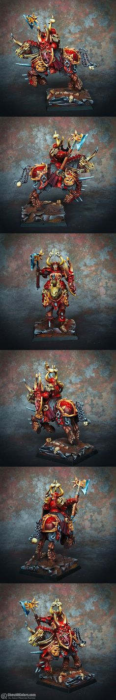 The Internet's largest gallery of painted miniatures, with a large repository of how-to articles on miniature painting Chaos Lord, Fairy Drawings, Warhammer Terrain, Fantasy Battle, Warhammer 40k Miniatures, Fantasy Miniatures, Monster Art, Warhammer Fantasy, Warhammer 40000