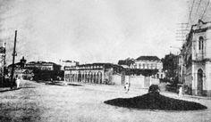 Vista dos jardins da Praça Marechal Thaumaturgo. Manaus. In: Relatório do prefeito municipal Pedro Severiano Nunes, 1934.