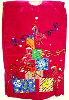 $114.88-$139.99 Rasberry Velvet Tropical Beach Pink Flamingo Christmas Holiday Tree Skirt - Rasberry Velvet Tropical Beach Pink Flamingo Christmas Holiday Tree Skirt http://www.amazon.com/dp/B0060R47JW/?tag=pin2wine-20