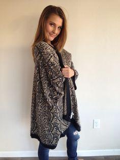 Chaser Oversized Sweater Kimono