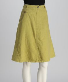 Take a look at this Citrus Skirt by Da-Nang on #zulily today!