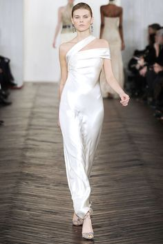 Ralph Lauren Fall 2009 Ready-to-Wear Fashion Show - Cecilia Mendez