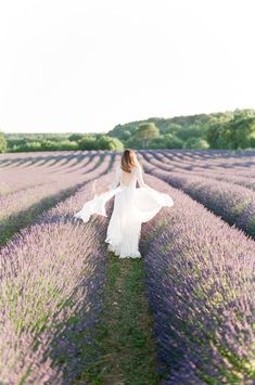 Lavender field wedding shoot: Photography : Tamara Gruner Photography Read More on SMP: http://www.stylemepretty.com/2016/10/26/provence-lavender-field-shoot/