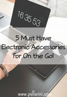 I love to find the latest and greatest gadgets that can help to make life that much easier, so here are my picks for the perfect electronic accessories to stay connected on the go!