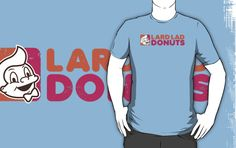 Lard Lad Donuts by GordonBDesigns