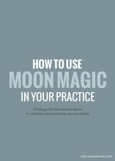 Being in tune to the moon to reap the benefits of its power is a very spiritual and beautiful act to familiarize yourself with. The moon is blessed with some deeply feminine energies and can help you feel more connected to the female side of yourself, whether you're a man or a woman. The moo
