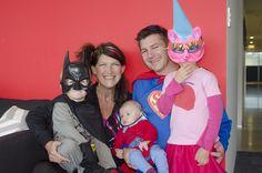Mini, and not-so-mini! Family photos at EROAD #goodvsevil #playatEROAD