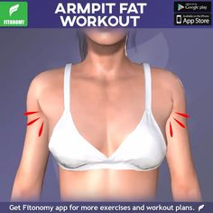 Ready to get toned strong arms? Not only will these exercises help strengthen your biceps triceps and everything in between youll also see the difference in your armpits. The post ARMPIT FAT WORKOUT! appeared first on fitness. Fitness Workouts, Sport Fitness, Body Fitness, Fun Workouts, At Home Workouts, Fitness Motivation, Physical Fitness, Enjoy Fitness, Fitness Goals