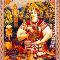 MOKOSH is the life-giving goddess in ancient Slavic mythology, inherited from the pre-Indo-European pantheon and debased during the early Christian era. She is a goddess of fertility, midwifery, water, and women in old Ukrainian mythology.  Mokosh is Moist Mother Earth (Mati-Syra-Zemlya). She is also the Mother of the soil.