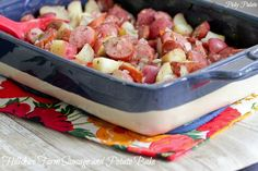 Hillshire Farm Sausage and Potato Bake | Picky Palate
