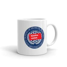Bureau of Memetic Warfare Morning Coffee, Microwave, Dishwasher, Drinking, Strong, Tea, Mugs, Website, Mug