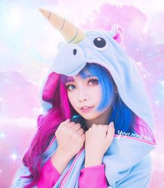 What's your favourite emoji? 👀 Mine is obviously 🦄💕 Also, I've made a discord chat so we can all talk shit and send memes together . Harajuku Fashion, Kawaii Fashion, Cute Fashion, Kawaii Cute, Kawaii Girl, Kawaii Anime, Cosplay Anime, Cute Cosplay, Short Scene Hair