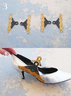 Jessamity: DIY Project: How to turn heels into maryjanes
