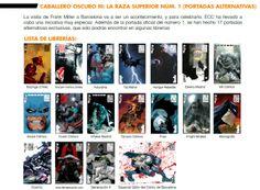 ECC publica Dark Knight III: The Master Race con 17 portadas alternativas