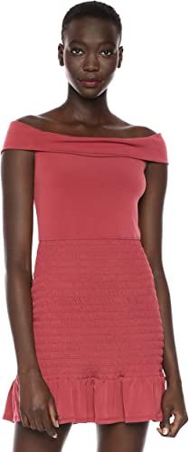 BCBGeneration Womens Off The Shoulder Mermaid Dress