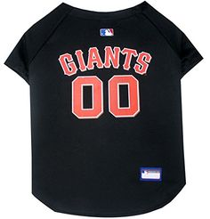 Pets First MLB San Francisco Giants Dog Jersey, Small Pet...