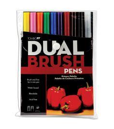 Tombow Dual Brush Pen Set ? 10PK, Portrait