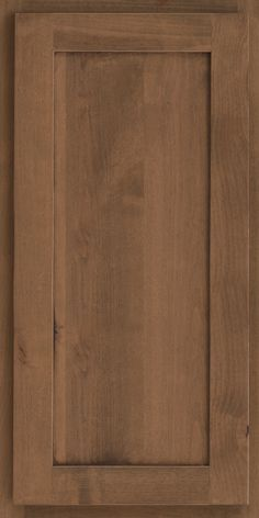 Square Recessed Panel - Veneer (AE8A) Rustic Alder in Husk - Wall