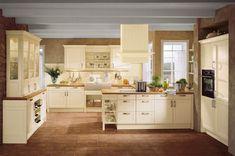 Häcker Küchen: Bristol Vanille #Landhausstil