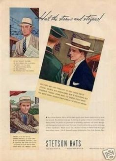 Flat Caps, also knows as Ivy caps and newsboy caps among other names became popular in the and remained popular through the from young boys to working class men and casually dresses upper class men wore Ivy caps. Mens Straw Hats, Hats For Men, 1940s Mens Fashion, Fashion Hats, Vintage Fashion, Do Men, Dapper Gentleman, Mens Style Guide, Vintage Style
