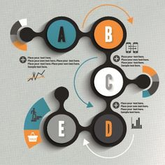 Business Infographic creative design 502 vector