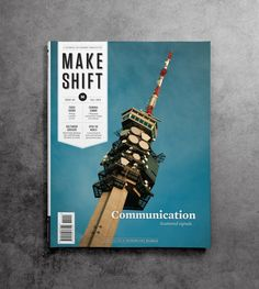Makeshift Communication Issue Cover - Cover photo by Patrick Sumi