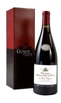 """MyGoodWines - Magnum de Hautes-Côtes-de-Nuits """"Les Dames Huguettes"""" Albert Bichot en coffret Magnum, Bottle, Wine Gift Sets, Gazebo, Flask"""