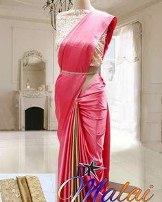 Satin Saree, Silk Satin, Blouse Designs, Sarees, Fabrics, Ship, Instagram, Saris, Ships