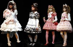 """Along with communicating culture, fashion is also a ways of communicating a way of life. The Japanese street fashion """"lolita"""" for instance takes aspects of """"dolly"""" and Victorian era style clothing and matches it with a lifestyle bent heavily on sewing, cooking, modesty, classical music, and lady-like characteristics. This also rings true for other fashion styles such as: grunge, pastel goth, hipster, punk and so forth."""