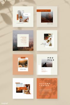 Autumn color tone so Layout Design, Graphisches Design, Banner Design, Book Design, Cover Design, Stand Design, Design Ideas, Instagram Design, Ideas Fotos Instagram