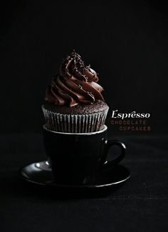 Strong rich espresso cupcakes