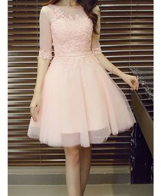 Appliques Pretty Homecoming Dress,Sexy Party Dress,Charming Homecoming Dress,Graduation Dress,Homecoming Dress - - Hübsches Ballkleid ♡ Source by Pretty Homecoming Dresses, Grad Dresses, Pretty Dresses, Sexy Dresses, Beautiful Dresses, Dress Outfits, Evening Dresses, Short Dresses, Fashion Dresses