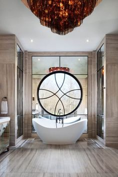 This bathroom by Ferris Rafauli simply screams elegance in each of its choices. His designs create intense and amazing solutions that impress and that will make you feel not only relaxed but also feeling blissful!