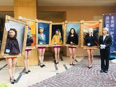 Art History Parades Around the Streets of Japan Ahead of Halloween Costume Halloween, Halloween Parade, Art Costume, Halloween Celebration, Halloween Art, Centaur Costume, Vincent Van Gogh, Johannes Vermeer, Mona Lisa
