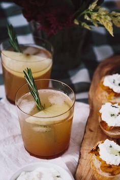 Cider Bourbon Cocktail