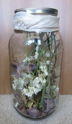 A great way to preserve your wedding bouquet!
