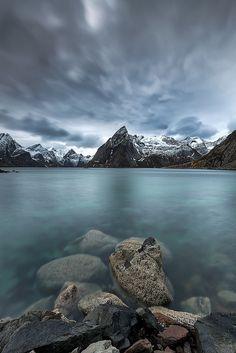 'Olstinden Lofoten' (Norway) by Johnny Myreng Henriksen Lofoten, Beautiful Norway, Visit Norway, Norway Travel, Top Travel Destinations, Amazing Nature, Nature Photos, Beautiful Landscapes, Wonders Of The World