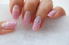 nail strawberrymilk