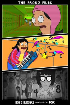 Bob's Burgers / The Frond Files