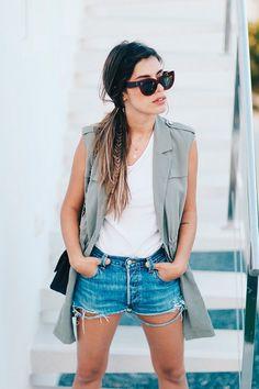 Los mejores looks de Dulceida Estilo Boho, Office Looks, Foto Casual, Moda Boho, Menorca, Casual Looks, Denim Skirt, Boho Fashion, Ideias Fashion