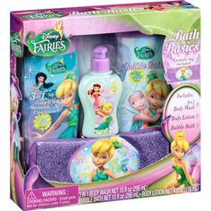 Delicieux Disney Fairies Bath Basics, 4 Pc
