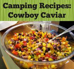 The Perfect Snack For Camping: Cowboy Caviar Recipe | http://www.everintransit.com/cowboy-caviar-recipe/