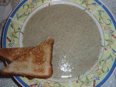supa crema de ciuperci - buna si usor de facut