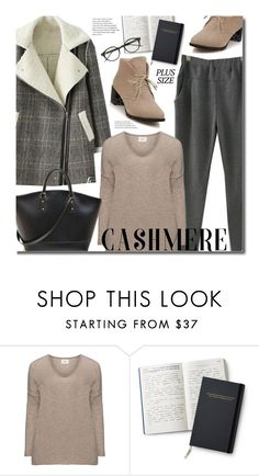 """""""Plus Size Cozy Cashmere Sweater"""" by beebeely-look ❤ liked on Polyvore featuring Bottega Veneta, sammydress, plussize, streetwear, cashmere and plussizefashion"""