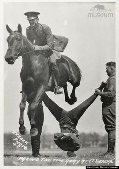 These Old Photos Of The Cavalry Showing Off Are Seriously Impressive