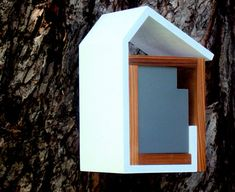 modern birdhouse by burd-haus