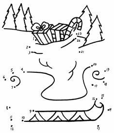 Disegni con giochi di natale per bambini da stampare for Disegni di coperta inclusi