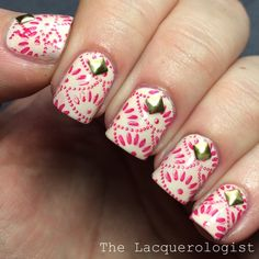 The Lacquerologist: Stamping & Studs with Born Pretty Store!