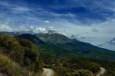 On the road series. Greece  #greece #roadtrip #audi #ontheroad #audia4 #epirus #mountains #ridge #thelonelytraveler #travelphotography #travel #vacation #traveladventures #offroad #wild #ontheedge